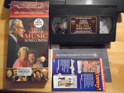 Used, RARE OOP Bill & Gloria Gaither VHS music video Billy Graham Homecoming christian for sale  Denver