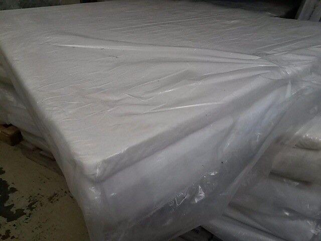 NEW UNUSED 4ft6 double Pillow top memory foam mattress,visco elastic matress.