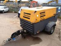 Atlas Copco Sandblasting Compressor