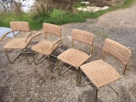 Chairs posh vintage good condition chairs dinning chair comfey chairs bargain chair officer sitting