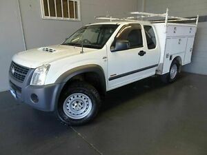 2007 Holden Rodeo RA MY07 LX (4x4) White 5 Speed Manual Spacecab Woodridge Logan Area Preview