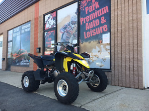 LIKE NEW!!! 2013 SUZUKI LTZ400 for only $59 bi-weekly!