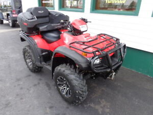 2014 Honda TRX500F w/ only 2000kms! All the extras!