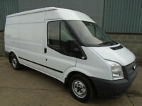 Ford Transit T300 TDCi 100 MWB medium roof van 2012 62 reg