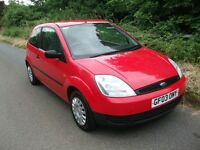 2003 Ford Fiesta 1.2 MOT July 2017, Full Service History