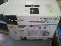 NEW IN BOX Sewing Machine with 16 Stitch Function(MISSING PARTS)