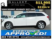 2009 Dodge Journey SXT AWD $119 bi-weekly APPLY NOW DRIVE NOW