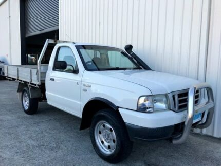 2006 Ford Courier PH (Upgrade) GL White 5 Speed Manual Cab Chassis Molendinar Gold Coast City Preview