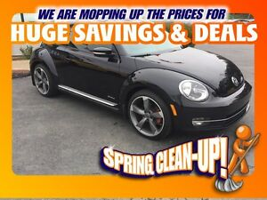 2014  BEETLE 2.0 TSI Sportline Leather