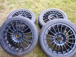 BMW Dunlop Winter rims and Tires (Germany made)