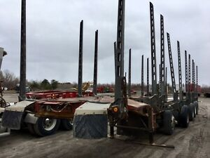 2000 Deloupe 5-Axle Log Trailer
