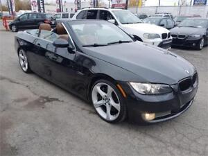 2007 BMW 3 Series 335i, CONVERTIBLE, NAV, ONLY 114276 KM, 3.0L