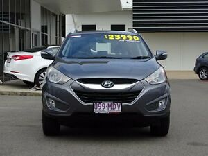 2011 Hyundai ix35 LM MY11 Elite AWD Grey Titanium 6 Speed Sports Automatic Wagon Garbutt Townsville City Preview