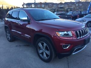 2015 Jeep Grand Cherokee Limited Leather Heated Seats Sunroof Re