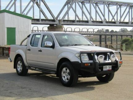 2007 Nissan Navara Silver Manual Utility Murray Bridge Murray Bridge Area Preview