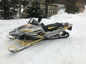 sled and double trailer
