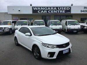 2011 Kia Cerato TD Koup White 5 Speed Manual Coupe Wangara Wanneroo Area Preview