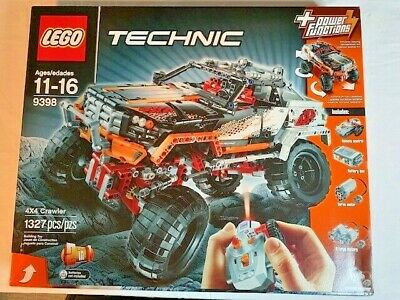 LEGO 9398 TECHNIC 4x4 CRAWLER WITH REMOTE CONTROL - NEW IN BOX