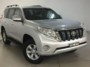 2015 Toyota Landcruiser Prado KDJ150R MY14 GXL Silver 5 Speed Sports Automatic Wagon West Ryde Ryde Area Preview