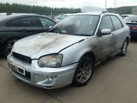 Subaru Impreza 2.0 2003 For Breaking