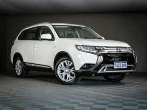 2019 Mitsubishi Outlander ZL MY19 ES 2WD White 6 Speed Constant Variable Wagon Maddington Gosnells Area Preview