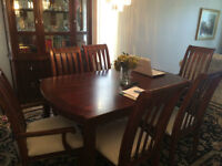 all dinning table sets with hutch for 1200