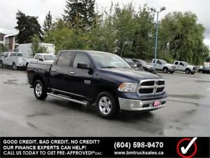 2015 RAM 1500 SLT CREW CAB SHORT BOX 4X4 LOADED NAVIGATION