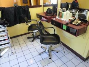 SALON FURNITURE / HAIR SALON FURNITURE AND LOT MORE CLOSING DOWN SALE