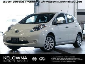 2014 Nissan Leaf S Electric w/Quick Charge Package