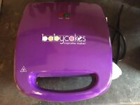 BABYCAKES CUPCAKE MAKER - BRAND NEW UNUSED