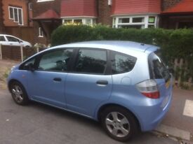 Honda Jazz new tyres, yearly serviced, radio/cd mp3. Some scratches, small dent to rear hatch door.
