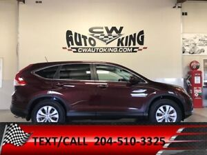 2014 Honda CR-V  EX-L / AWD / Leather/Roof/Rear Cam/Bluetooth