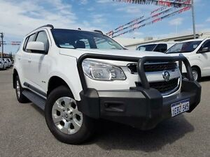 2013 Holden Colorado 7 RG MY14 LT (4x4) White 6 Speed Automatic Wagon Maddington Gosnells Area Preview