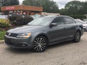 2014 Volkswagen Jetta-2.0 TDI-HIGHLINE-LEATHER-ROOF-HEATED SEATS