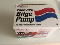 RULE 2000 SUBMERSIBLE BILGE PUMP 24V
