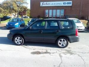 2005 Subaru Forester X PRIVATE SALE SAFETY INSP. $2300.  SOLD