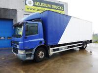 18 tonne Daf Box Lorry FA CF65.220