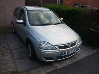 Vauxhall Corsa Twinport 2006 1.2 5 Door 12 Months MOT