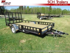 """PJ Utility trailers -  83"""" x 14 ft just one of many sizes"""