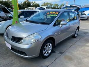 2007 Nissan Tiida C11 MY07 Q Silver 6 Speed Manual Hatchback Clontarf Redcliffe Area Preview