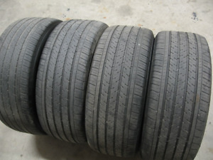 EXC SET OF 4 MICHELIN PILOT 235/50R18.$120 FOR THE SET