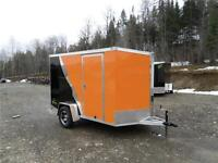 NEW 6X10 NEO ALUMINUM MOTORCYCLE TRAILERS