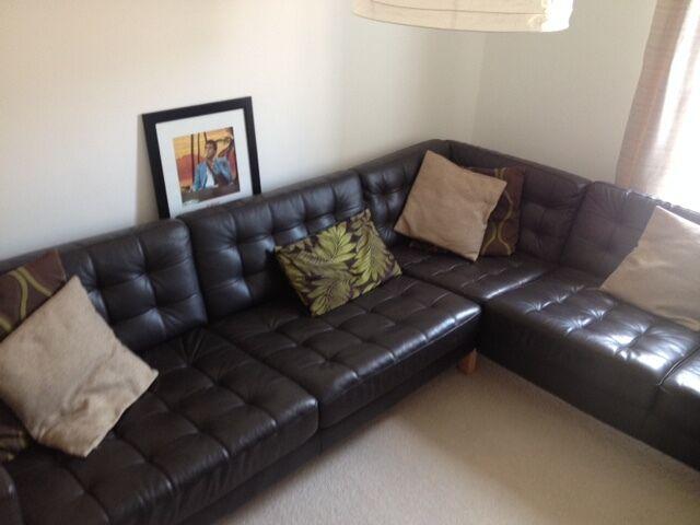 Corner Sofa LANDSKRONA IKEA nearly new condition in  : 86 from www.gumtree.com size 640 x 480 jpeg 31kB
