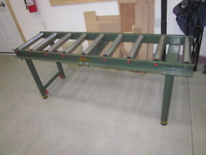 Roller outfeed stand