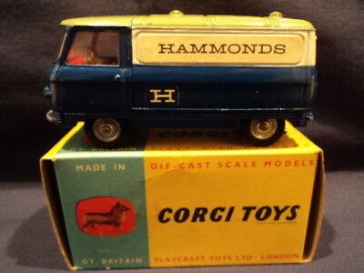"""Corgi Toys 1960's Rare Commer """"Hammonds"""" Van No: 462 N/MINT Ex Shop Stock"""