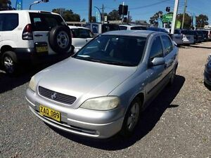 2003 Holden Astra TS CD Silver 5 Speed Manual Hatchback Greenacre Bankstown Area Preview