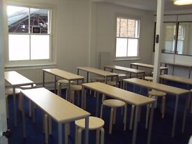Classroom available to rent with D1 permission (£18 per hour)