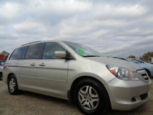 2006 HONDA ODYSSEY EX-L-LEATHER-DVD-HDTV-SUNROOF-/SLIDING DOORS