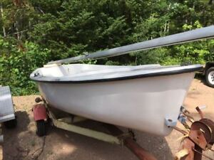 13ft Sailing Dinghy