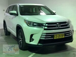 2017 Toyota Kluger GSU50R GX White Pearl Sports Automatic Wagon Campbelltown Campbelltown Area Preview